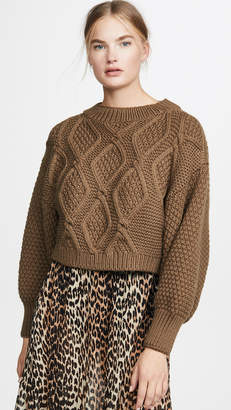 I Love Mr Mittens Diamond Crew Neck Sweater