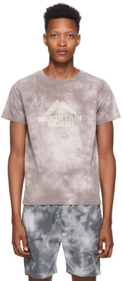 Remi Relief Brown Tie-Dye Mountain Gods T-Shirt