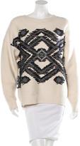 Vanessa Bruno Wool Embroidered Sweater