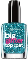 Sally Hansen Big Top Coat Treatment Glitter - Blue Moonlight