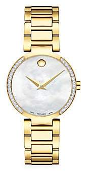 Movado Women's Modern Classic Diamond Watch
