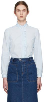A.P.C. Blue Dunst Shirt