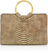 Henri Bendel Marquis Snake Embossed Mini Satchel
