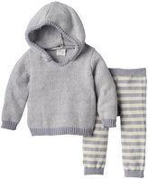 Cuddl Duds Baby Girl Hooded Sweater & Pants Set