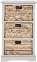 Huntington 3 Wicker Basket Storage Side Table