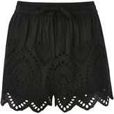 Topshop PETITE Cutwork Broderie Shorts