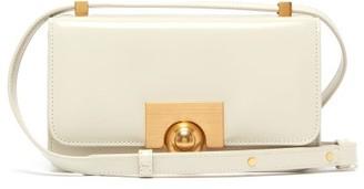 Bottega Veneta Classic Small Leather Shoulder Bag - Womens - Beige Gold