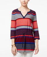 Tommy Hilfiger Camilla Smocked Striped Tunic