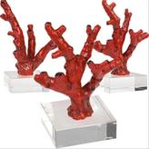 Red  Coral Sculpture by Vivre Selection