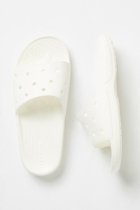 Crocs Classic Slide Sandals By in White Size 9