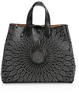 Alaia Women's Large Frida Leather Lux Tote