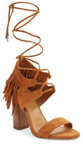KENDALL + KYLIE Saree Fringed Suede Sandals