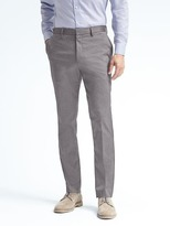 Banana Republic Standard Non-Iron Stretch Cotton Solid Pant