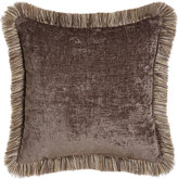 "Dian Austin Couture Home Reversible Argent Pillow, 19""Sq."