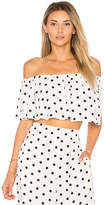 House Of Harlow x REVOLVE Bree Crop in White. - size L (also in M,S,XL,XS)