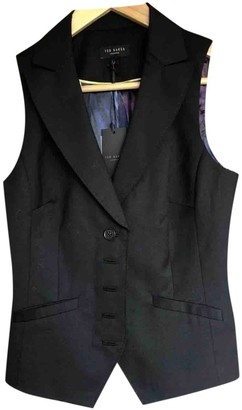 Ted Baker Black Wool Top for Women