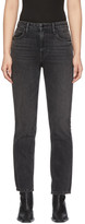 Alexander Wang Black Cult Cropped Jeans