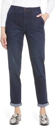 Wit & Wisdom Ab-Solution High Waist Utility Jeans