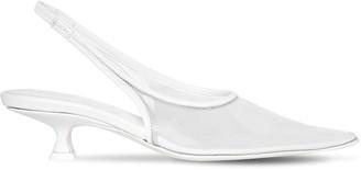 MM6 MAISON MARGIELA 40mm Plastic Slingback Sandals