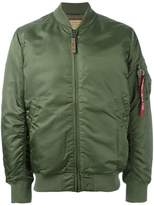 Alpha Industries padded bomber jacket