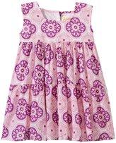 Masala Medallion Gypsy Dress (Baby) - Purple-12-18 Months
