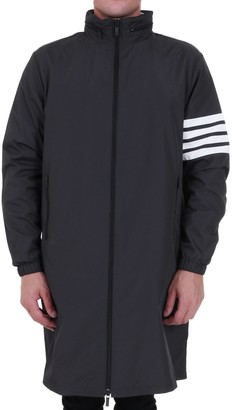 Thom Browne 4-Bar Raincoat