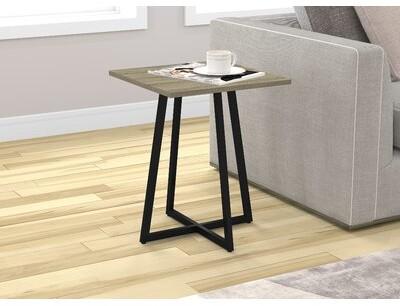 Union Rustic Karson Metal End Table