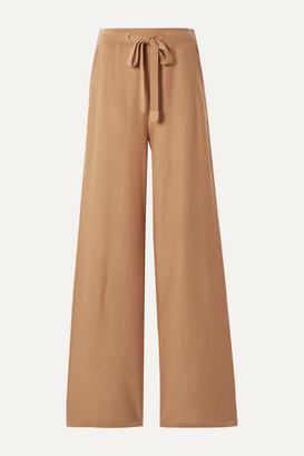 Loro Piana Cashmere Track Pants - Tan