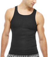 Hanes Men's ComfortBlend FreshIQ Tank Undershirt 4-Pack