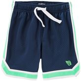 Osh Kosh Boys 4-12 Striped Mesh Active Shorts