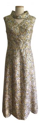 Non Signé / Unsigned Non Signe / Unsigned Gold Cotton Dresses
