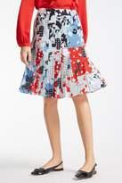 Max Mara Regina Pleated Skirt