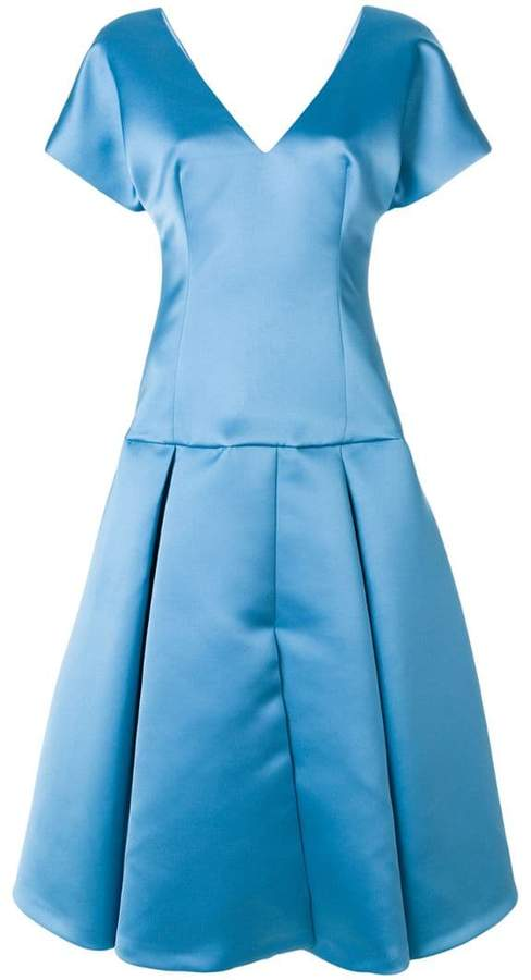 Sara Battaglia flared dress