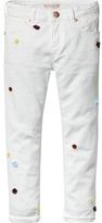 Scotch & Soda Petit Ami - Pom Pom Trousers | Slim Boyfriend Fit