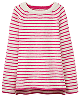 Joules Little Joule Girls' Chenille Striped Jumper