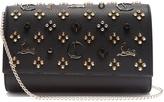 Christian Louboutin Paloma embellished leather clutch