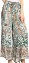 Sakkas 25 - Julia Batik Palazzo Wide Leg Pants with Elastic Waistband - OS