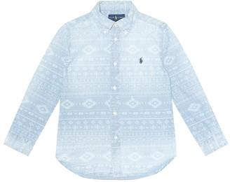 Polo Ralph Lauren Southwestern chambray shirt