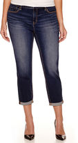JCPenney STYLUS Stylus Slim Ankle Jeans - Plus
