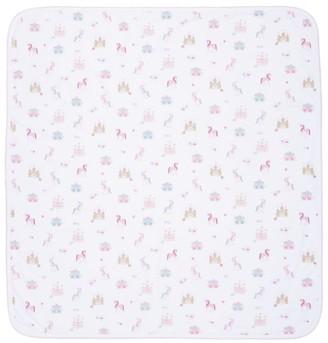 Kissy Kissy Cotton Unicorn Print Blanket