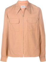 Lemaire pointed-collar light jacket