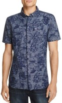 Superdry Tropical Floral Print Regular Fit Button-Down Shirt