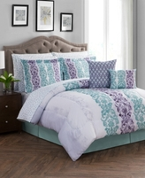 Jessica Sanders Finesse Reversible 12-Pc. California King Comforter Set