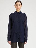 Alexander Wang Layered-Effect Chiffon Shirt