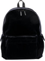 Ann Demeulemeester classic backpack - men - Cotton/Leather/Polyester/Viscose - One Size