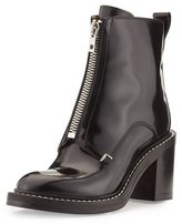 Rag & Bone Shelby Runway Leather Bootie, Black