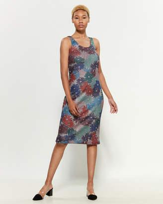 Margherita Splendid X Metallic Daisy Sleeveless Dress