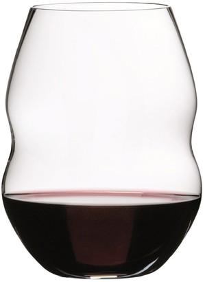 Riedel Swirl Set of 2 Stemless Wine Glasses