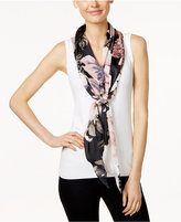 Vince Camuto Holiday Botanical Bias Scarf