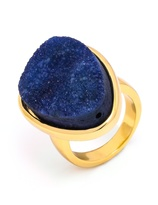 BaubleBar Druzy Cocktail Ring